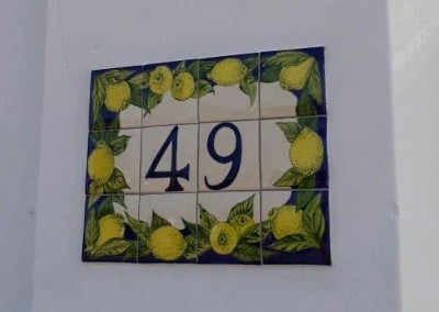 House number lemons