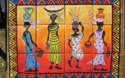 Bright African Ladies