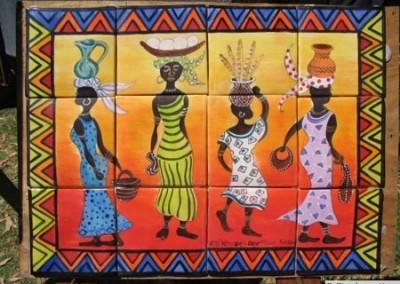 Bright African Ladies