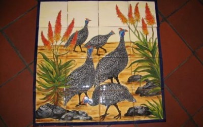 Guinea Fowl with Aloes