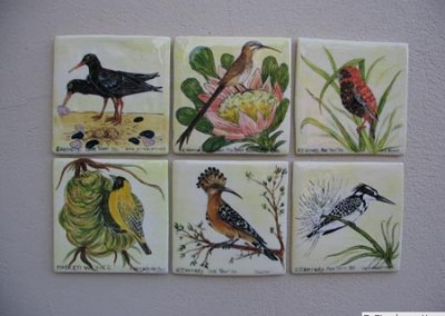 Individual Birds (15cm squared)
